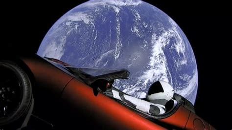 elon musk launched a car into space, and gta v players can