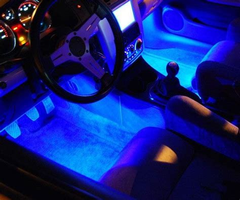 Car Interior Lighting Kit Trays Over The And Glow Led Lights For Cars