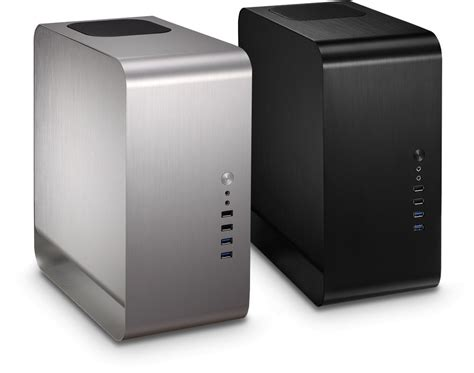 Casing Bitfenix Ghost Black cooltek umx1 compact mini itx aluminium cases