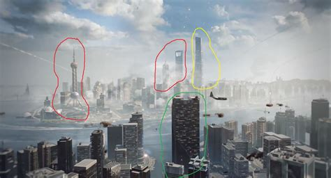 Is the layout of Siege of Shanghai similar to that area in real life Shanghai? : battlefield 4