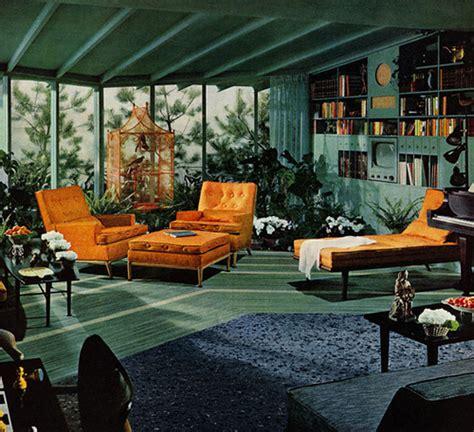 retro livingroom mid century living room a vintage advertisement for