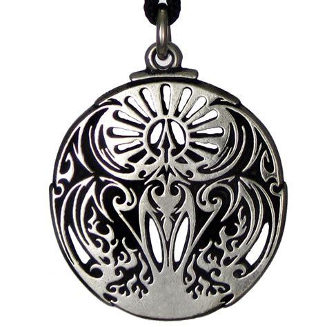 mythical bird pendant talisman amulet jewelry