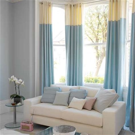 two tone curtains love the colours home dreaming pinterest curtain ideas living rooms
