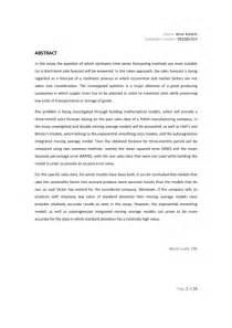 Abstract Essay Exle by Artur Kotlicki Extended Essay