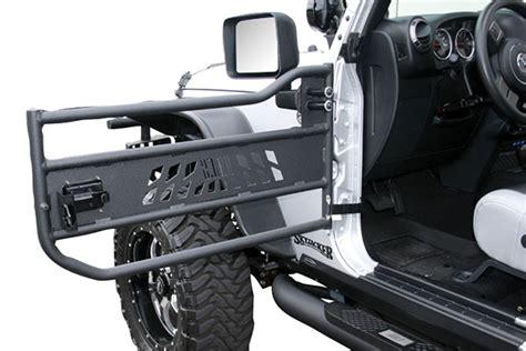 jeep jku tube doors aries automotive aluminum tubular front doors 07 17 jeep