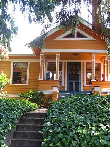 orange exterior house colors 22 best bungalow exterior colors images on pinterest