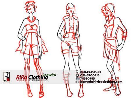 menggambar proporsi tubuh riraclothing