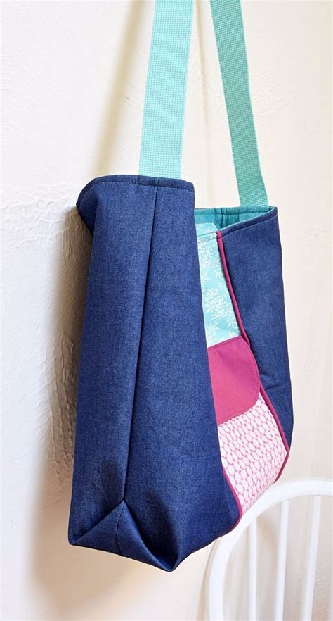 tote bag pattern with recessed zipper best 25 zippered tote bag ideas on pinterest diy zip