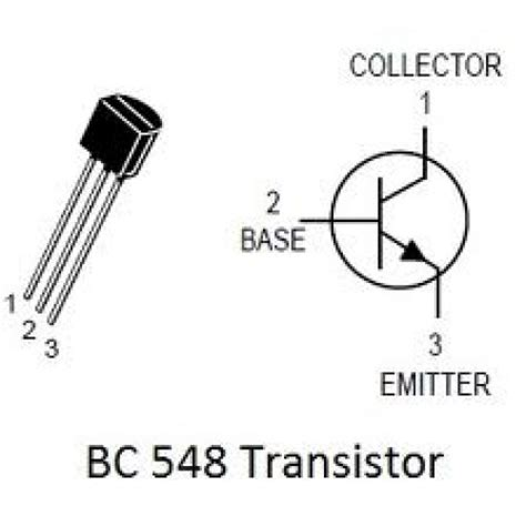 bc548 transistor pin description bc548 electronic components shop india sonlineshop