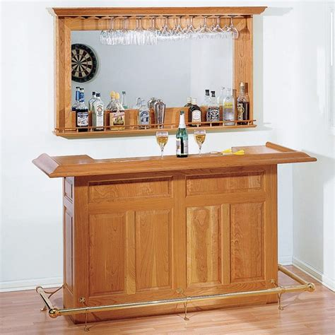Wood Plans For Home Bar