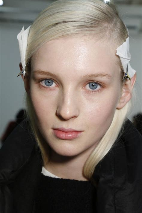 Runway Backstage At Proenza Schouler by 34 Best Runway Hair Images On Makeup