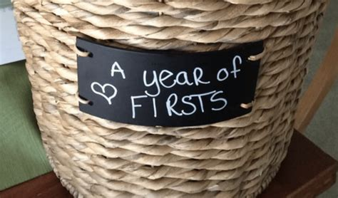Wedding Gift Year Of Firsts by Diy Wedding Gift A Year Of Firsts Wedding Gift Basket