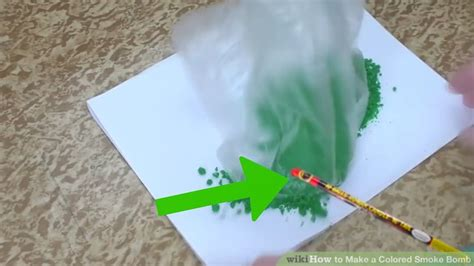 How To Make A Paper Smoke Bomb - how to make a colored smoke bomb 10 steps with pictures
