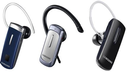 Headset Bluetooth Samsung Hm3600 Samsung Unveils Three New Bluetooth Headsets Hm1610 Hm3600 And Modus 6450