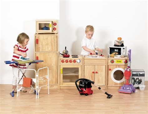 5 solid hardwood kitchen pretend play kitchen