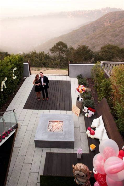 On Top Of The World Marriage Proposal in Laguna Beach