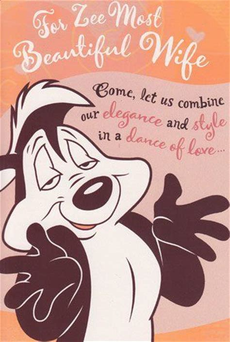 Pepe Le Pew Birthday Card 17 Best Images About Pepe Le Pew On Pinterest Valentine