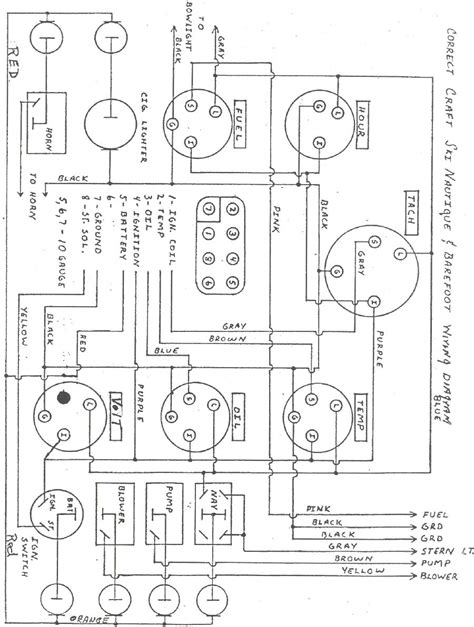 Ski Nautique Wiring Diagram ignition switch 82 ski nautique correctcraftfan forums