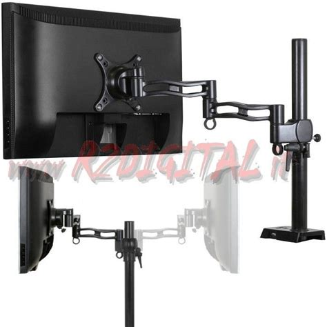 supporto monitor da scrivania supporto monitor tv da scrivania artic z1 da 13 quot a 30