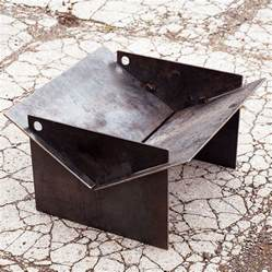 metal pit tecton steel collapsible pit by magma firepits