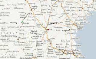where is laredo on the map laredo location guide