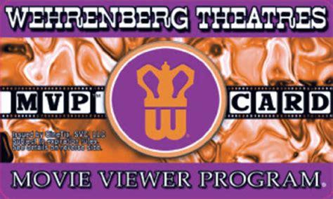 Wehrenberg Gift Card - wehrenberg mvp members