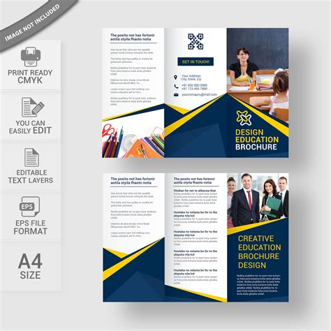Education Brochure Templates Free by Exelent Education Brochure Templates Free Festooning