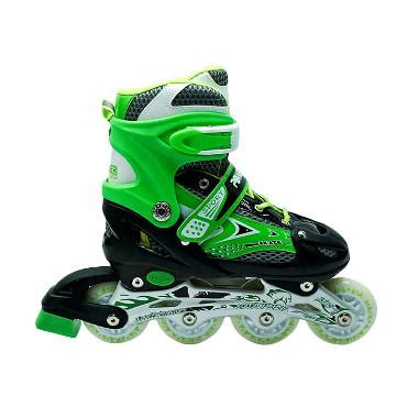 Sepatu Roda Power Line jual power line inline skate sepatu roda hijau