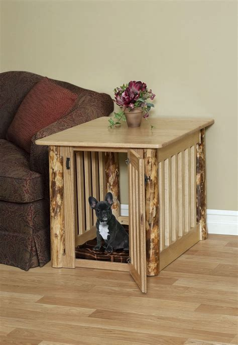 large dog kennel end table pet crate end table crown pet crate table u2013 a