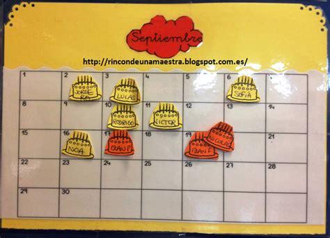 Calendario Con Todos Los Meses Rinc 243 N De Una Maestra El Calendario