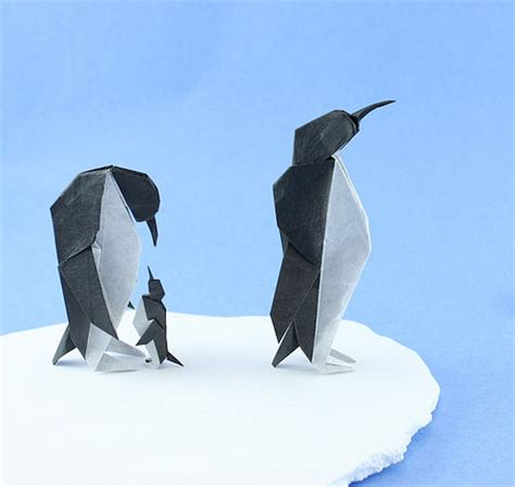 Origami Penguin - origami animals