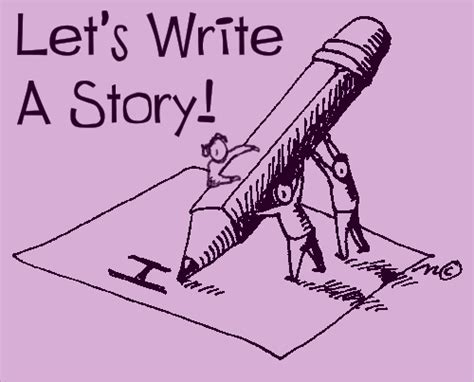 writing a story let s write a story