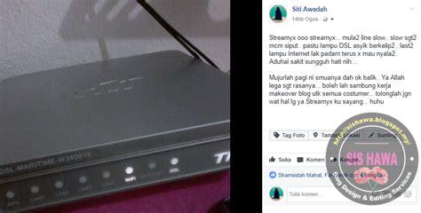 Berapa Modem Buat Laptop streamyx bila lu dsl berkelip dan lu tak menyala sishawa dot