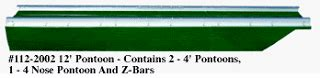 how thick are aluminum pontoons herman brothers blog hb pond toons and plastic pontoons