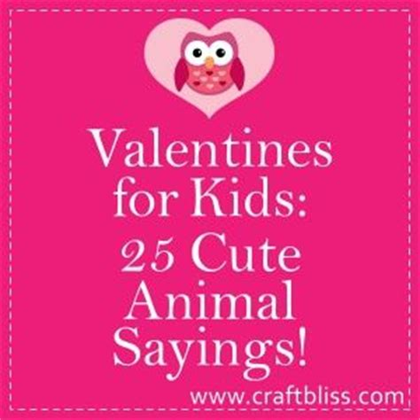 printable animal quotes 25 animal sayings for kids valentines cards