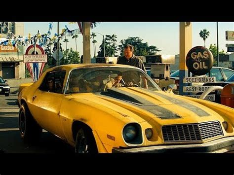 sam witwicky buys his first car (bumblebee) transformers