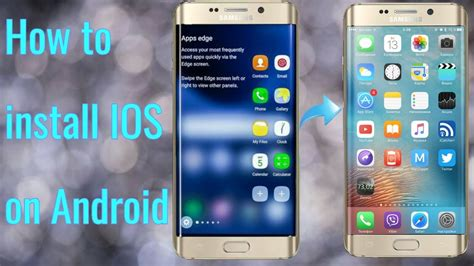 install ios on android the way to set up ios 11 on android completly 2018 convert your android telephone to iphone