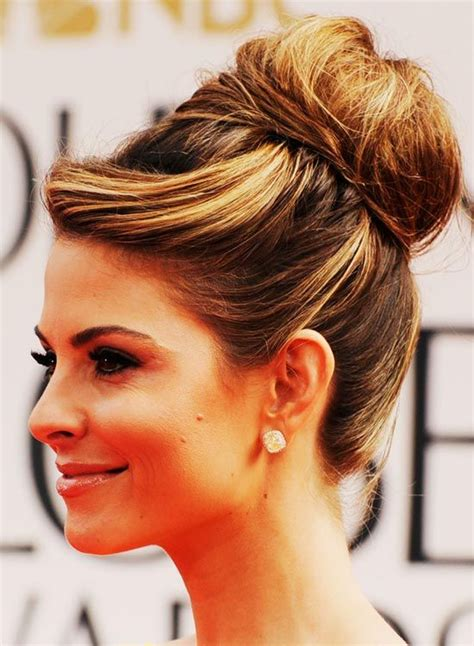 casual hairstyles pinterest high bun casual hairstyles and hairstyles for medium