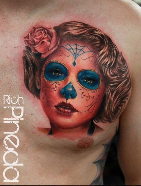 what does a skull tattoo mean 42 best day of the dead images on mexican