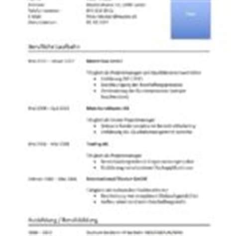 Tabellarischer Lebenslauf Vorlage Excel Lebenslauf Muster Muster Und Vorlagen Kostenlos