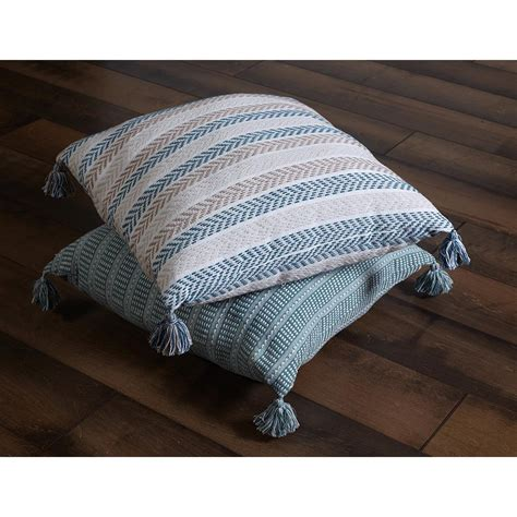 30 x 30 decorative pillows lr resources flynn lr07311 slate 30 in x 30 in