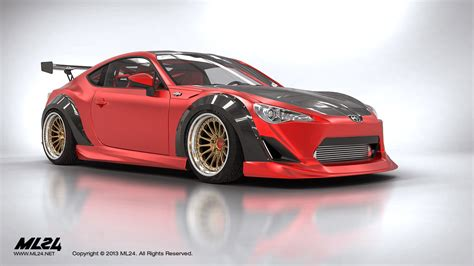 frs scion body kit ml24 automotive design prototyping and body kits