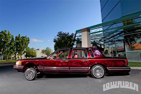 1994 lincoln town car parts 1994 lincoln town car lowrider magazine