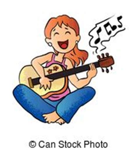 girl playing guitar clip art girl playing guitar illustrations and stock art 825 girl