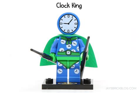 Lego Clock King review lego batman minifigures series 2