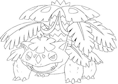 pokemon coloring pages venusaur coloring page mega evolved pokemon mega venusaur 3 3