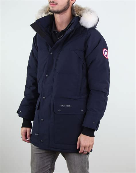 canada goose s emory parka jacket admiral blue