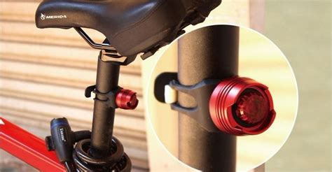 Lu Belakang Sepeda 5 Led Dengan Laser Bicycle Laser lu belakang sepeda black jakartanotebook