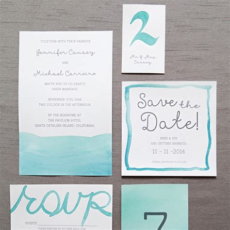 watercolor invitation tutorial learn exactly how to diy watercolor wedding invitations