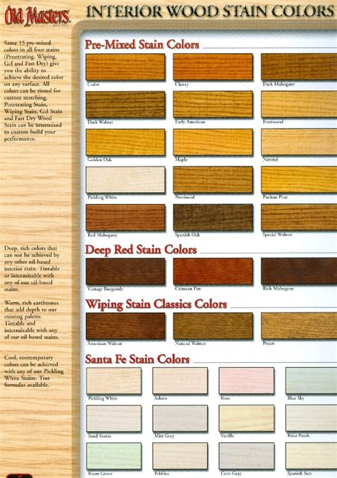 varathane wood stains color chart brown hairs